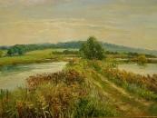 Квітами та пейзажами заповнила вінницьку «Світлицю» Валенина Колтановська