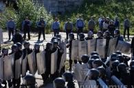 Вінницька міліція провела навчання з приборкання футбольних фанатів