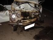 На Вінниччині легковий автомобіль зіткнувся з рейсовим автобусом