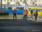 У Вінниці за два дні вулиця Кармелюка стала асфальтованою