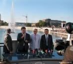 У Вінниці відкрито набережну Рошен та унікальний фонтан