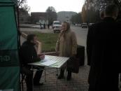 """На  Вінниччині в рамках акції """"Україна проти  Януковича!"""" працюють виїзні громадські приймальні"""