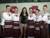 """Вінниччину на  """"Червоній руті"""" представив етно-фольк гурт """"Мокоша"""" з 8 дівчат"""