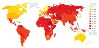 Украина обогнала Россию в рейтинге коррупции