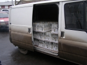На Вінниччині контрабандну горілку перевозять навіть під виглядом пошти