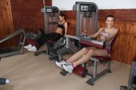 Фіналістки Міс Вінниця у спортзалі