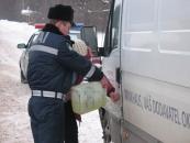 Більше доби інспектори ДПС  Вінниччини намагаються допомогти подружжю та врятувати їх яблука від обмороження