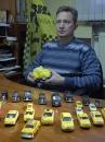 Вінниччанин назбирав колекцію із 28 таксі з різних країн
