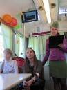 """""""Машиною часу"""" став для школярів Вінниці  трамвай-""""Везунчик"""""""