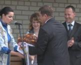 На відкритті Центру обслуговування у Крижополі платники співали пісню про податки