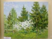 Запрошення на виставку робіт художників, які два тижні малювали Хмільник