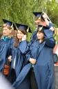 До 100-річного ювілею педуніверситету студенти пройшлись святковою ходою до пам'ятника Коцюбинського