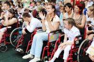 У центрі соціальної реабілітації дітей-інвалідів «Промінь» відбулося свято останнього дзвоника