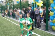 На Тяжилові з'явилося нове футбольне поле та спортивно-ігровий мультикомплекс