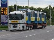 Вінницький трамвай поїхав у Львів