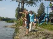 Дітей навчали правилам поведінки на воді