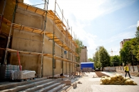 Мер та губернатор подивились на будівництво нового хірургічного корпусу лікарні ім. Пирогова