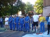 У Центральному парку Вінниці запалав Олімпійський вогонь