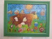 10-річна вінничанка малює одну картину за день