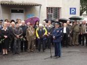Сьогодні у Вінниці відбулося відкриття  меморіальної дошки  генерал-майору Анатолію Бурєннікову
