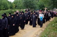 В хресному ході на Іосафатову долину взяли участь близько двадцяти тисяч прочан