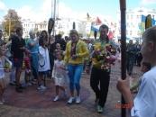Вінниця зустріла дворазову срібну призерку ХХХ Олімпійських ігор Інну Осипенко-Радомську