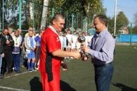 Олександр Домбровський привіз у Стрижавку «Кубок Добра»