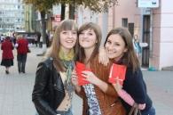 Студенти Училища культури і мистецтв ім.М.Д.Леонтовича привітали Вінничан з Днем Музики!