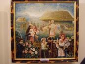 Пасічник-садівник створив виставку олійних полотен