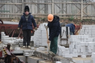Володимир Гройсман заклав першу цеглину третього муніципального будинку