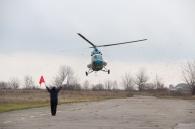 Вперше політ санавіації на Вінниччині здійснив гелікоптер МІ-2
