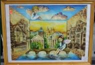 У холі міської ради відкрилася виставка «На крилах мрії»