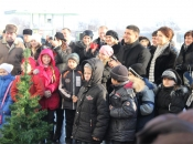 Святий Миколай через благодійний фонд Петра Порошенка передав всім маленьким вінничанам 45 тисяч солодких подарунків