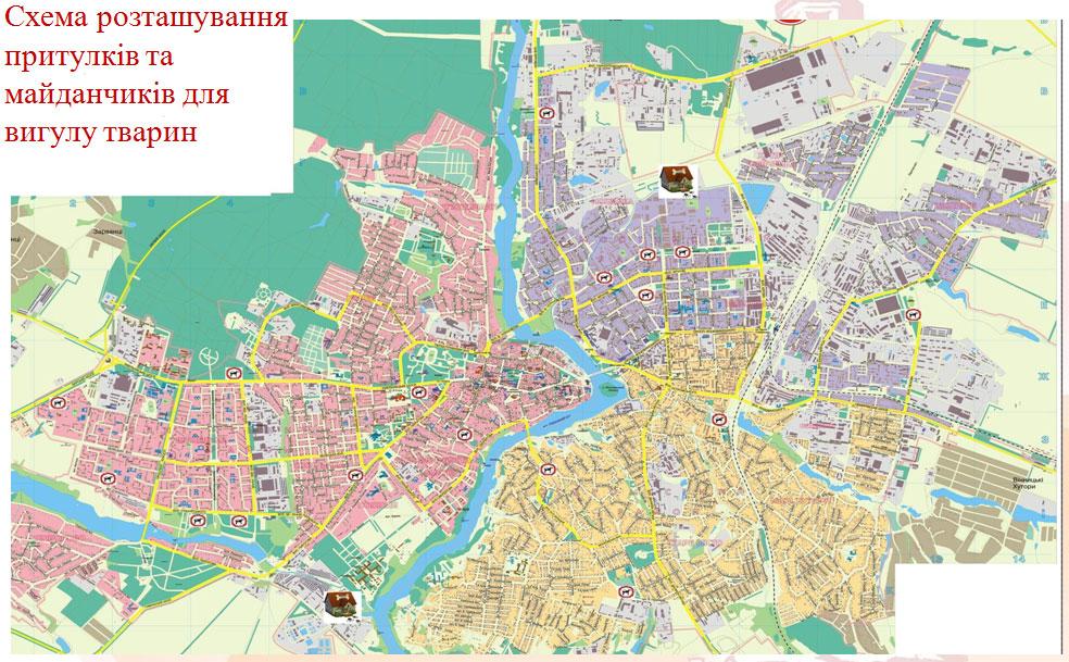 Карта Вінниці Скачать - фото 7