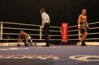 В'ячеслав Узєлков у першому раунді нокаутував суперника