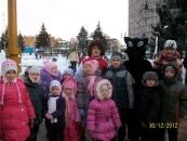 Біля Резиденції Діда Мороза справжній аншлаг
