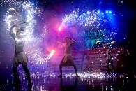 Новорічні та різдвяні святкування Вінниця закінчила дощем та вогнем