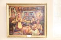 """На виставці  """"Різдвяне диво"""" можна побачити картини з черпаного паперу"""