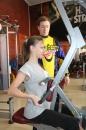 """Фіналістки конкурсу краси """"Міс Вінниця"""" продемонстрували красу свого тіла у спортзалі"""