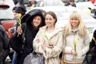 8 березня у Вінниці відбувся перший жіночий автопробіг