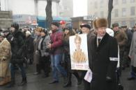 Мітинг опозиції у Вінниці зібрав близько п'яти тисяч громадян