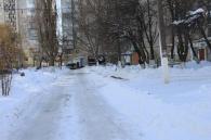Сніг пройшов, а Вінниця живе в нормальному  ритмі