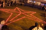9 травня на майдані Незалежності Вінниці засяяла зірка Перемоги