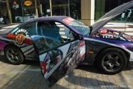 Красивые машины и девушки радовали глаз винничан 11 мая возле ГРЦ Feride Plaza