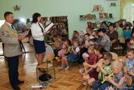 """У Вінниці до Дня захисту дітей військові подарували дітям лекцію-казку під назвою """"Подорож в країну музики"""""""