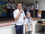У таборі імені Юлії Рябчинської у вигляді театралізованої вистави дітям провели уроки безпечної поведінки на вулиці