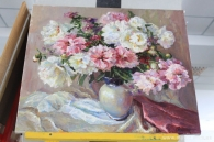 У холі міськради відкрилася виставка Валентини Колтановської
