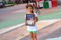 Минулими вихідними на дитячому караоке біля вежі переможниця зібрала майже 220 гривень