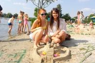 Сьогодні у Вінниці будували замки з піску