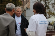 7 вересня, під час святкування Дня міста, у «Містечку USAID» вінничан навчали безпечно подорожувати
